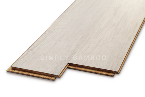 Strand Bamboo Flooring White Uniclic (BB-SWW11)
