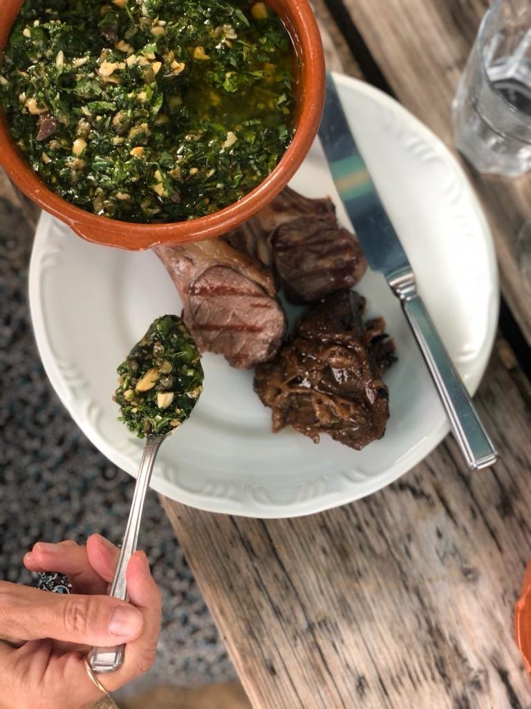 LAMB CHOPS, ROAST TATTIES + SALSA VERDE | Mac & Wild