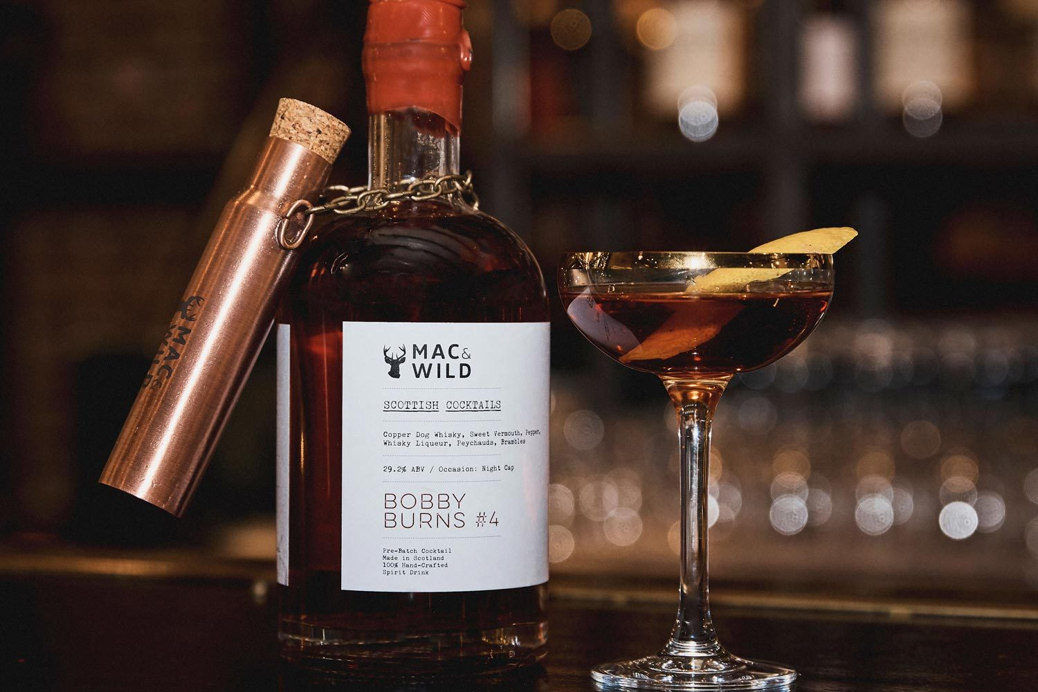 Bobby Burns #4 Manhattan - Mac & Wild