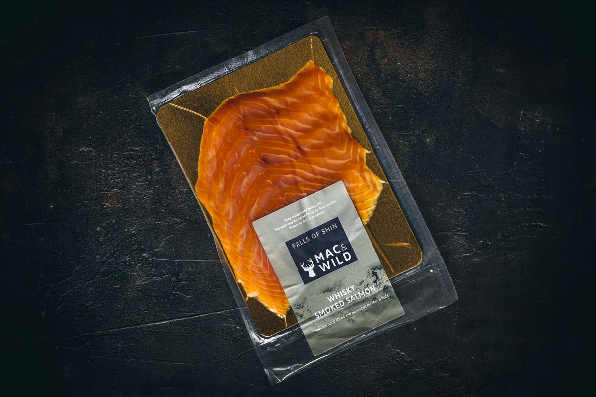 Cold Whisky Smoked Salmon - Mac & Wild