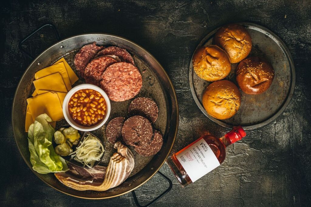 Dirty Brunch Burger Kit (for 4) - Mac & Wild