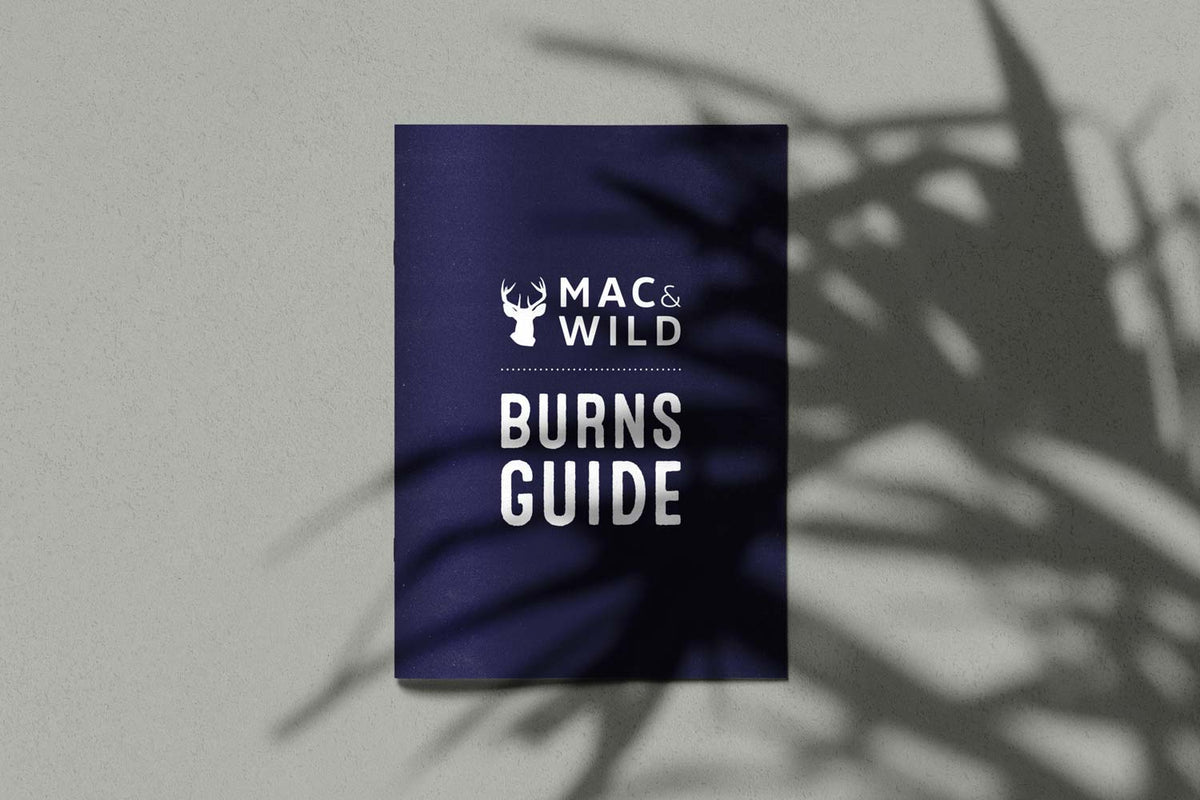 FREE Burns Guide - Mac & Wild