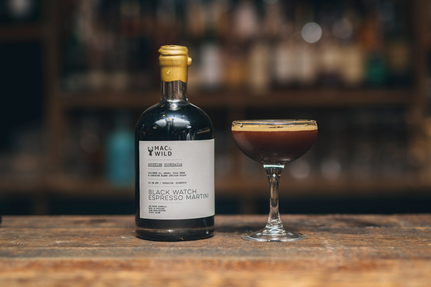 Blackwatch Espresso Martini - Mac & Wild