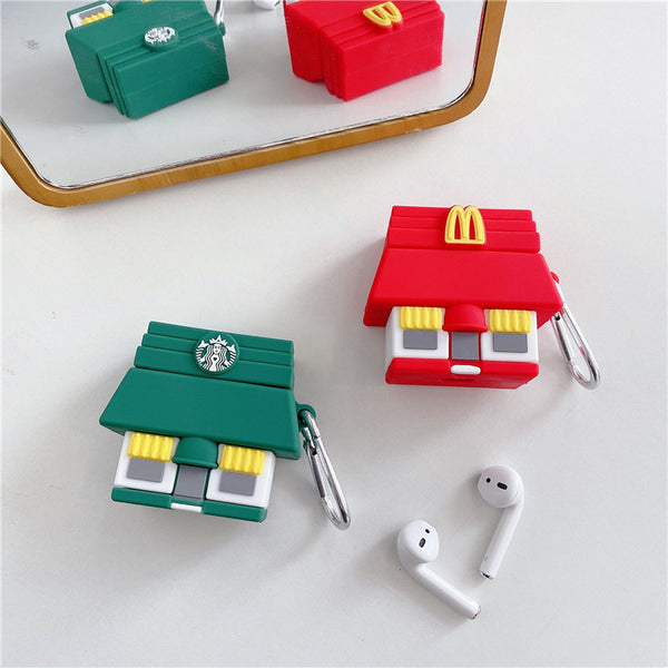 Starbucks House / Mcdo House Airpods Case