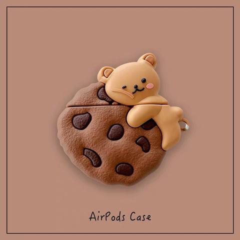 Cookies with Bear AirPods Case