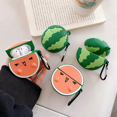 Watermelon Face AirPods Case