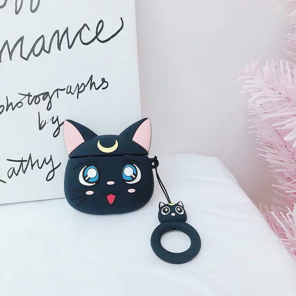 Sailormoon Luna AirPods Case