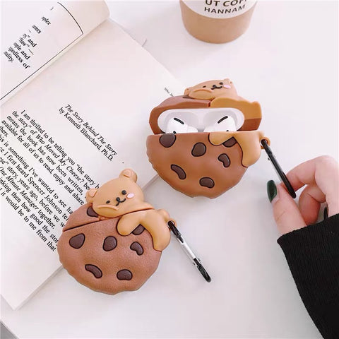 Cookies with Bear Airpods Pro Case