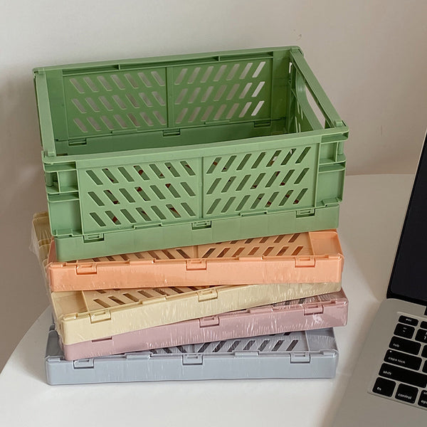 Foldable Storage Stackable Box Organizer