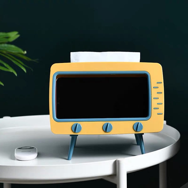 TV Mobile Stand Tissue Holder