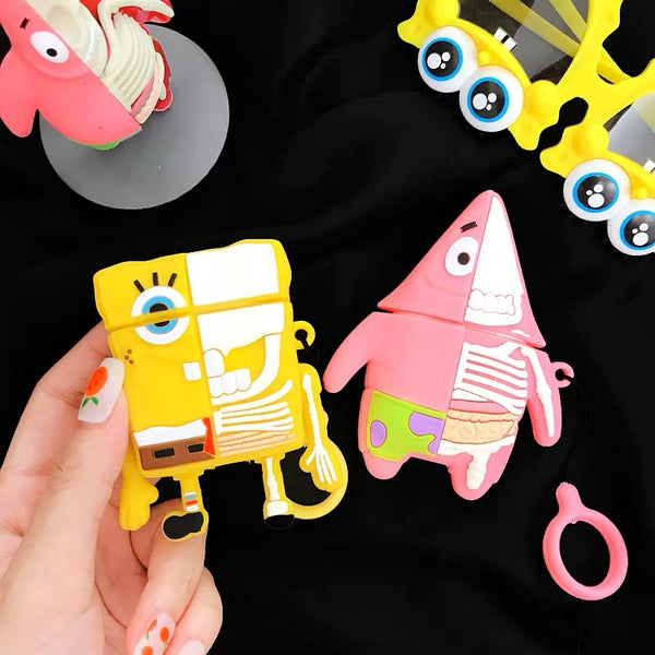 Mighty Jaxx Spongebob Patrick AirPods Case