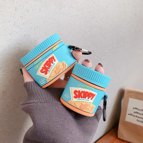 Skippy Peanut Butter Airpods Pro Case