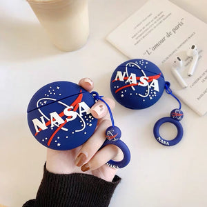 NASA Circle Logo AirPods Case
