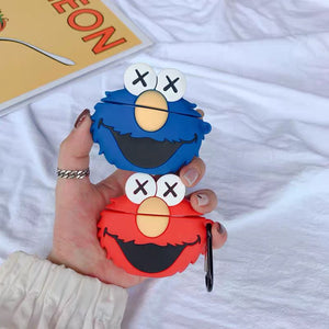KAWS Elmo Cookie AirPods Case