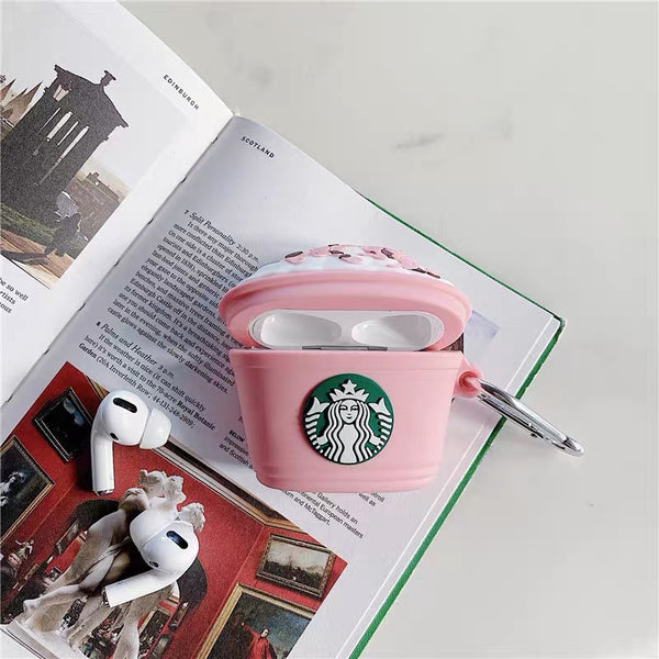 Starbucks Strawberry Frappe AirPods Case