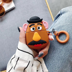 Mr and Mrs Potato Head AirPods Case