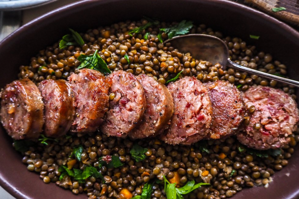 Cotechino With Lentils by WOOP Evo Chef