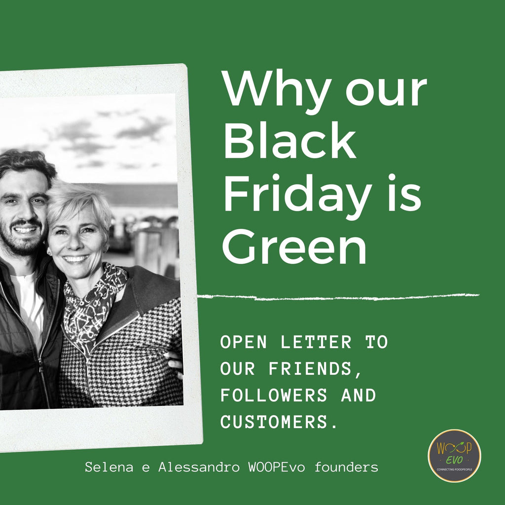OUR BLACK FRIDAY IS GREEN