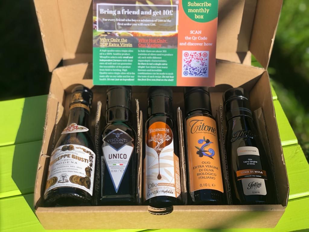 Evo Box - Premium Italian Extra Virgin Olive Oils and Vinegars Selection