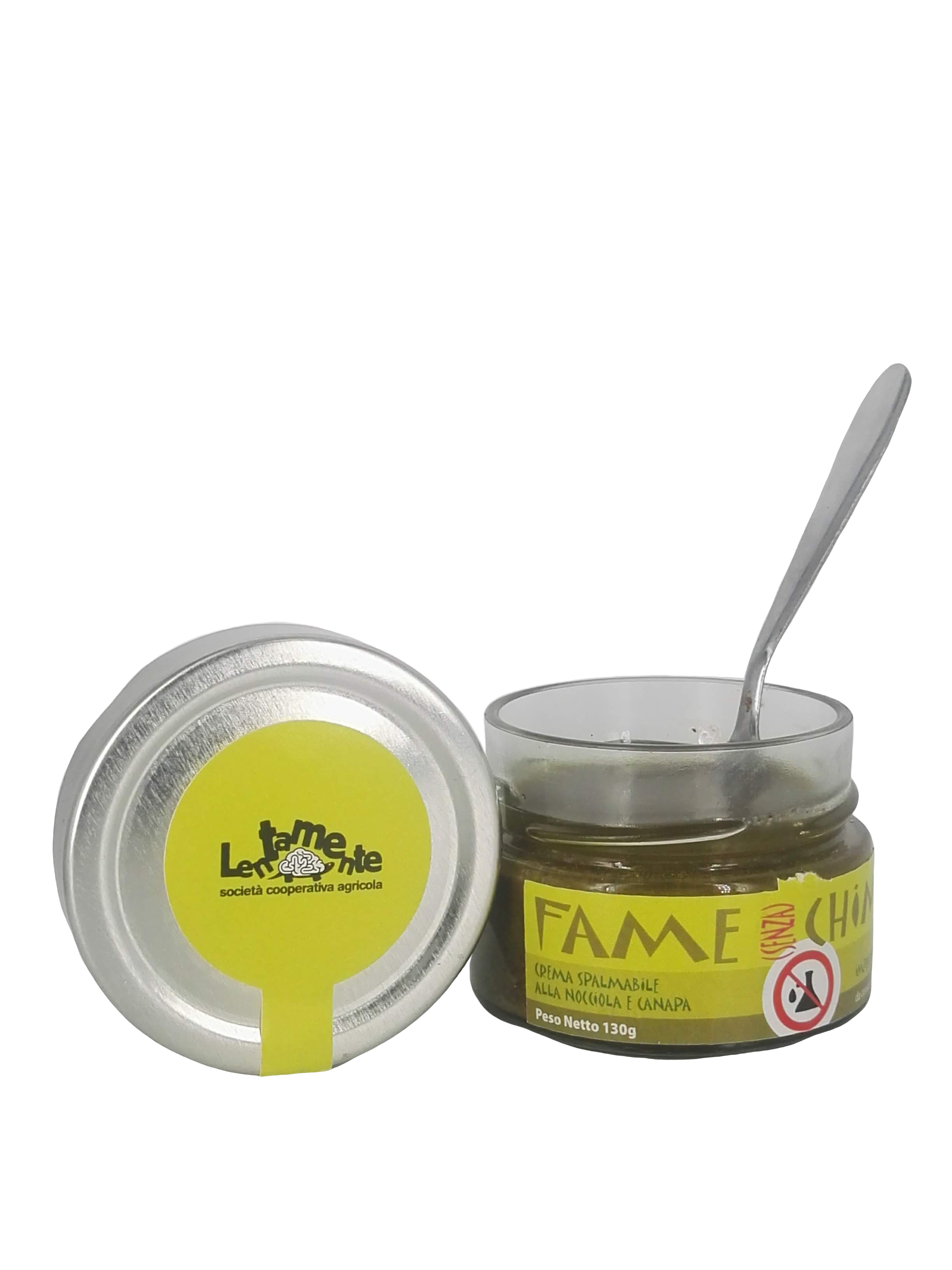 100% Organic Hazelnuts & Hemp Spreadable - Fame (senza) Chimica