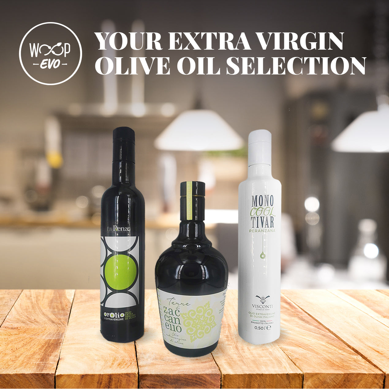 Extra Virgin Olive Oil - Subscription Box