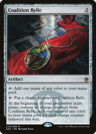 Coalition Relic [Masters 25] | Gators Games and Hobby