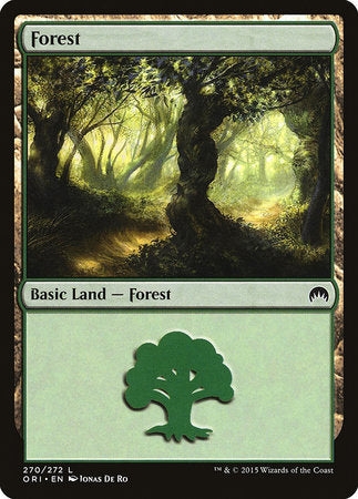 Forest (270) [Magic Origins] | Gators Games and Hobby