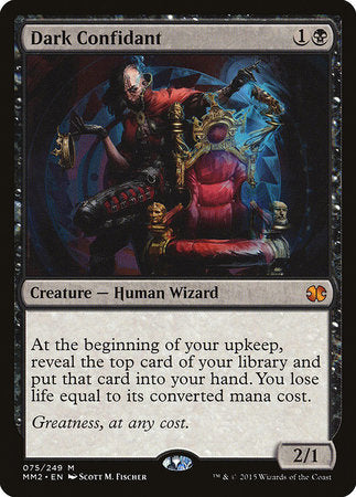 Dark Confidant [Modern Masters 2015] | Gators Games and Hobby