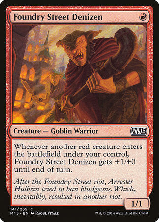 Foundry Street Denizen [Magic 2015] | Gators Games and Hobby