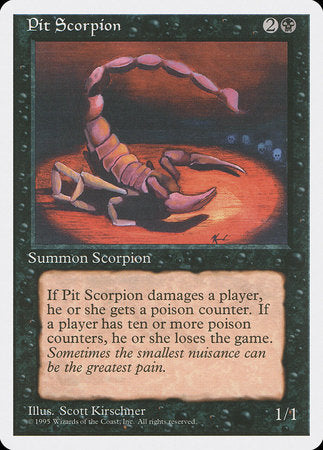 Pit Scorpion [Fourth Edition] | Gators Games and Hobby