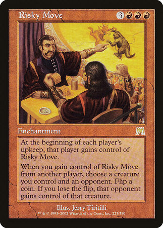 Risky Move [Onslaught] | Gators Games and Hobby