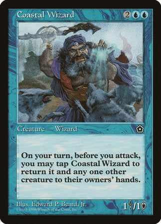Coastal Wizard [Portal Second Age] | Gators Games and Hobby