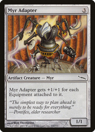 Myr Adapter [Mirrodin] | Gators Games and Hobby