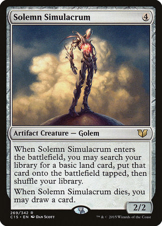 Solemn Simulacrum [Commander 2015] | Gators Games and Hobby