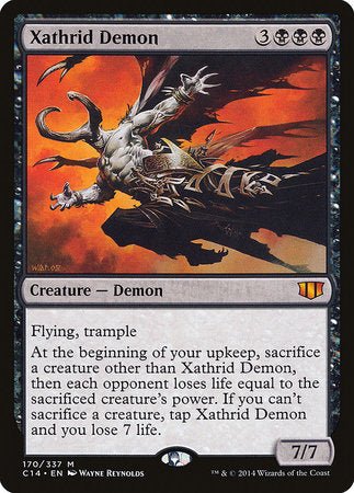 Xathrid Demon [Commander 2014] | Gators Games and Hobby