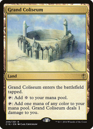 Grand Coliseum [Commander 2016] | Gators Games and Hobby