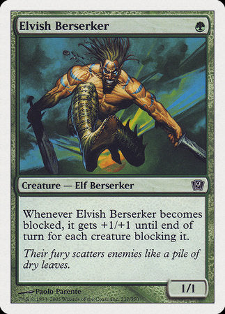 Elvish Berserker [Ninth Edition] | Gators Games and Hobby