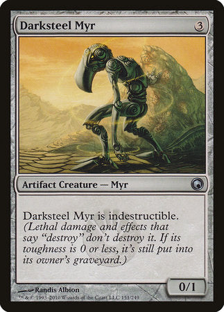 Darksteel Myr [Scars of Mirrodin] | Gators Games and Hobby