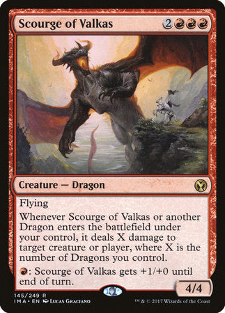 Scourge of Valkas [Iconic Masters] | Gators Games and Hobby