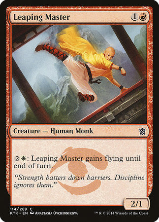 Leaping Master [Khans of Tarkir] | Gators Games and Hobby