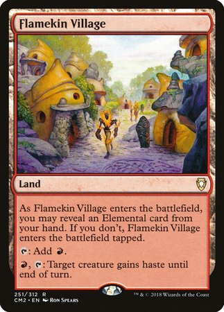 Flamekin Village [Commander Anthology Volume II] | Gators Games and Hobby