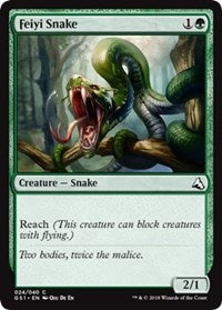 Feiyi Snake [Global Series Jiang Yanggu & Mu Yanling] | Gators Games and Hobby