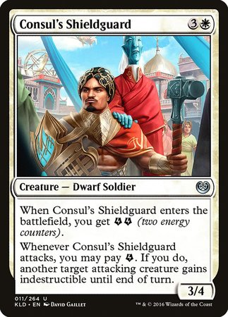 Consul's Shieldguard [Kaladesh] | Gators Games and Hobby