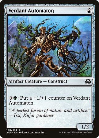 Verdant Automaton [Aether Revolt] | Gators Games and Hobby