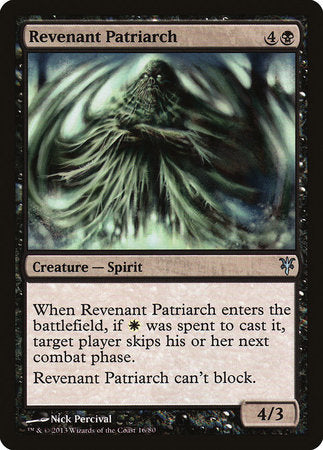 Revenant Patriarch [Duel Decks: Sorin vs. Tibalt] | Gators Games and Hobby