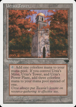 Urza's Tower (Forest) [Chronicles] | Gators Games and Hobby