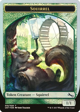 Squirrel Token [Unstable Tokens] | Gators Games and Hobby