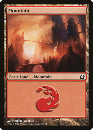 Mountain (267) [Return to Ravnica] | Gators Games and Hobby