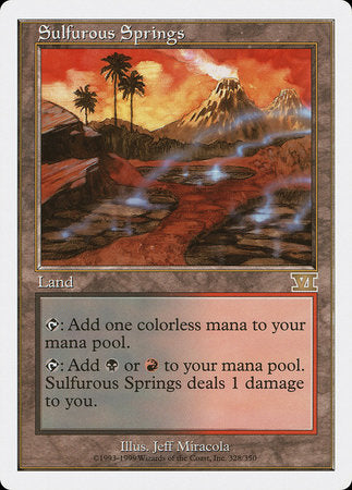 Sulfurous Springs [Classic Sixth Edition] | Gators Games and Hobby
