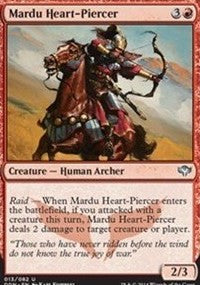 Mardu Heart-Piercer [Duel Decks: Speed vs. Cunning] | Gators Games and Hobby